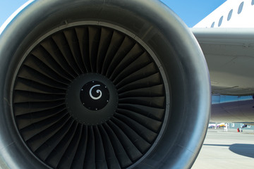 Turbine of airplane
