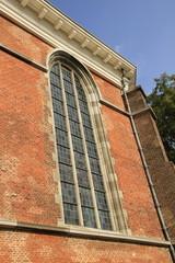 KIrchenfenster der Rundkirche in Willemstad