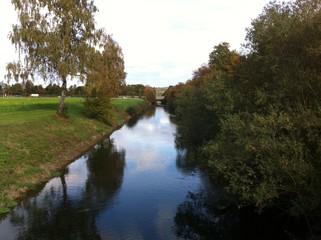 Isar-Loisach-Kanal in Wolfratshausen