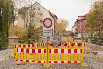 Brückensanierung - Fussgänger und Radfahrer frei