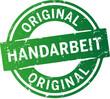 Button Stempel Original Handarbeit