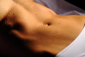 Sensual woman body