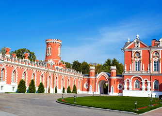 Petrovsky Travelling Palace in Moscow