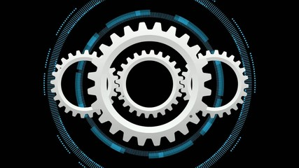 Rotating Gears #Countdown, Time,