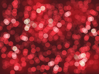CHRISTMAS LIGHTS Background (red white yellow bright happy)