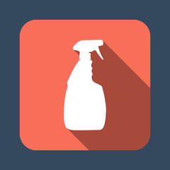 household cleaning bottle vector