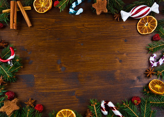 Christmas Holiday wood Background