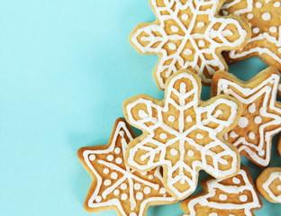 Christmas Gingerbread Cookies Border