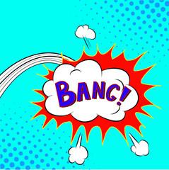 Comic Speech Bubble Bang