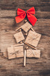 Leinwandbild Motiv Christmas tree