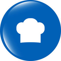 Chef hat sign icon. Cooking symbol. Cooks hat