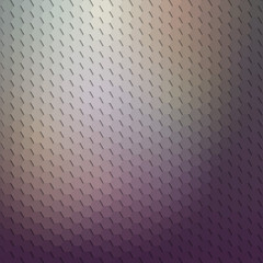Dark geometric background, abstract hexagonal pattern vector