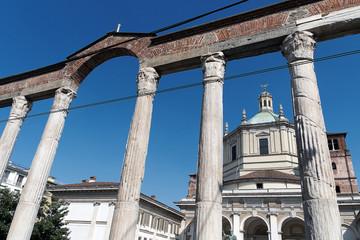 Milano - Basilica San Lorenzo Maggiore - Colonne San Lorenzo