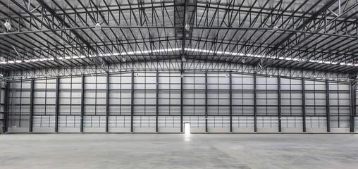 Large modern new empty storehouse