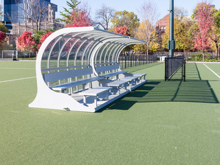 Sports Field with seating