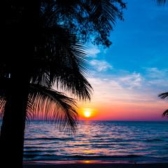 Nice sunset. Ocean Sunrise
