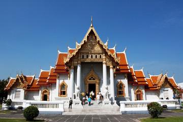 Chapel of Wat Benchamabophit in Thailand