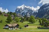 Grindelwald Village in Berner Oberland, Switzerland