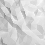 Fototapety Abstract white triangle 3D geometric paper background