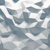 Fototapety Abstract top lighted geometric paper background