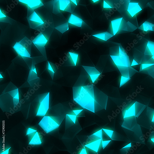 In de dag 3d Achtergrond hi-tech abstract geometric shining background