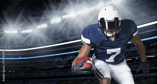 canvas print picture American Football Game Action Photo