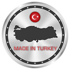 Made in Turkey (Silver)