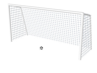Soccer Goal with Ball