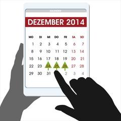 Weihnachtszeiten Weihnachtszeit Kalender