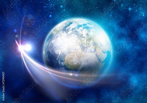 fototapeta na ścianę Planeta Ziemia