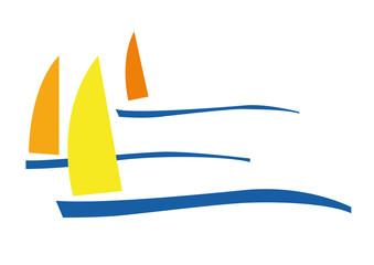 Vector sign sailing