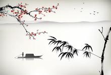 Peinture de paysage chinoise