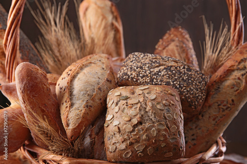 Poster Brood assortment of bread