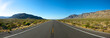 Leinwanddruck Bild - Panoramic Open Road