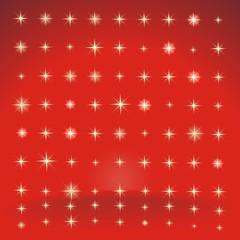 Hintergrund in rot mit Sternen