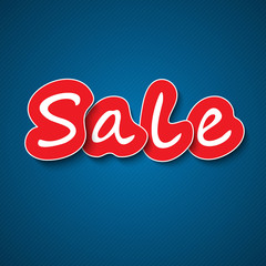 Sale paper sign