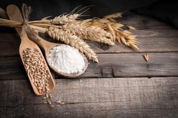 Mehl, Getreide