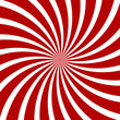 Red Hypnosis Spiral Pattern. Optical illusion. Vector - 72911314
