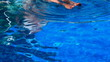 Relaxing at the swimming pool