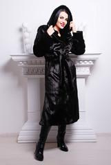 зимний наряд для женщин