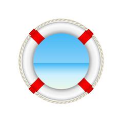 White life buoy