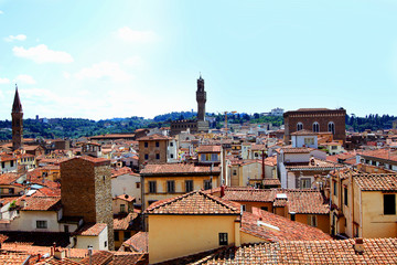 View of Florence with the Duomo