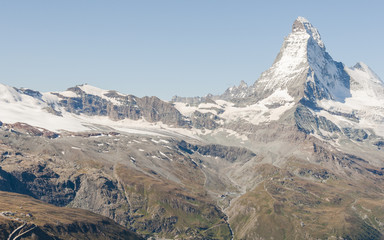 Zermatt, Bergdorf, Alpen, Walliser Berge, Gletscher, Schweiz