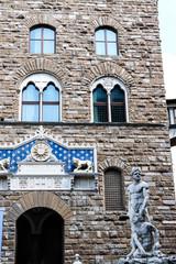 Statues at Piazza della Signoria. Florence. Italy