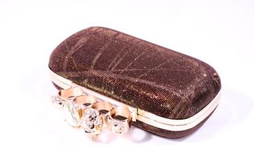 Vintage Used Old Woman Handbag
