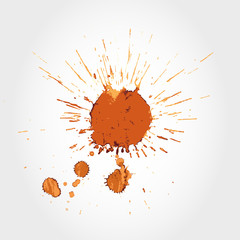 big coffee stain