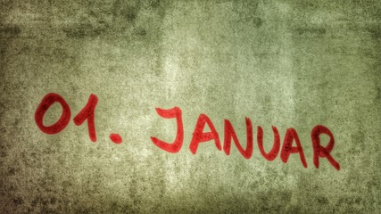 erster Januar... Neujahr