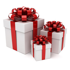 Group of gift box