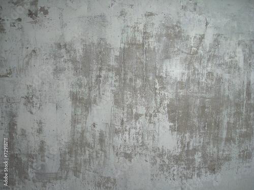 canvas print picture Zerkratzter grauer Hintergrund