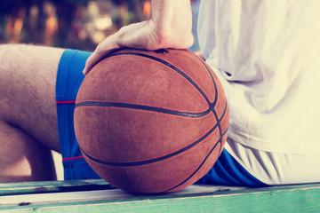 Basketball pause.